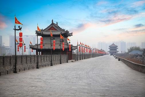 西安明城墙旅游